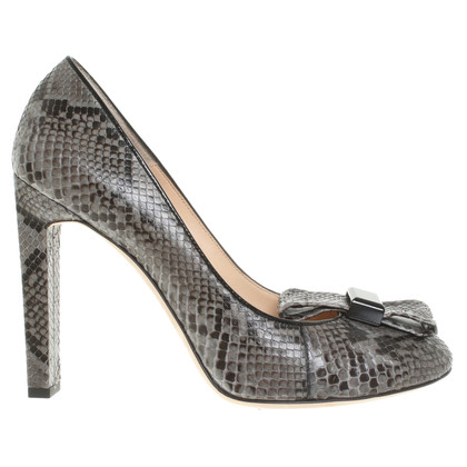 Bally pumps Python Leather