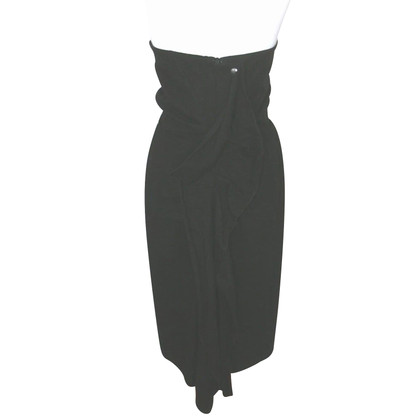 Lanvin Lanvin 2007 Ruffle Back Dress