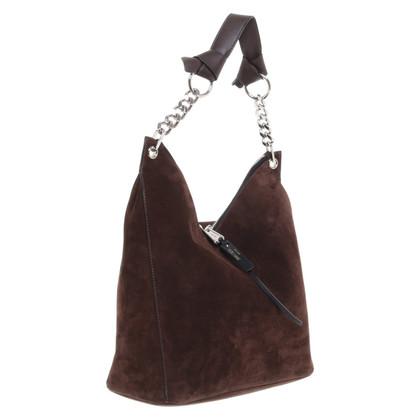 Jimmy Choo Suede shoulder bag
