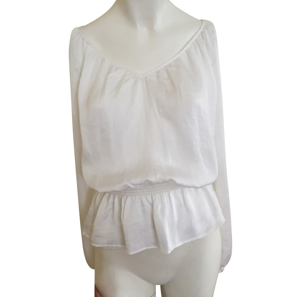 Michael Kors White Silk-top