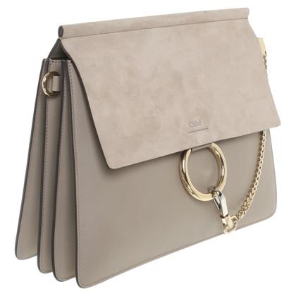 "Chloé ""Faye Shoulder Bag"" in grey"