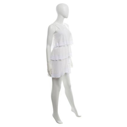 BCBG Max Azria Kleid in Cremeweiß