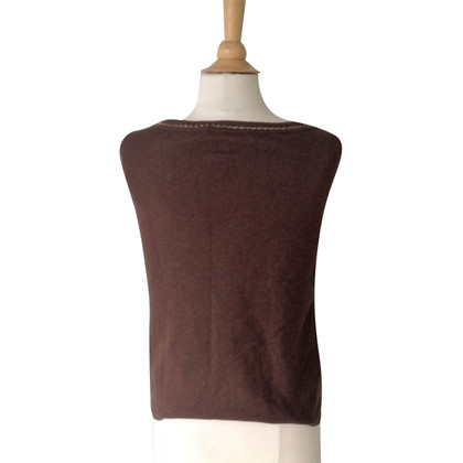 Escada Brown knitted top