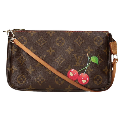 "Louis Vuitton ""Pochette Accessories Monogram Cerises"""