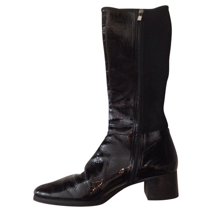 Prada Boots made of patent leather