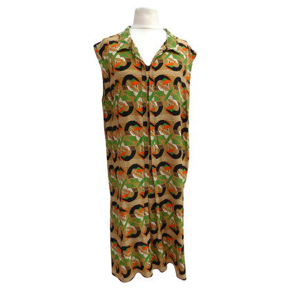 Marni Silk dress with print