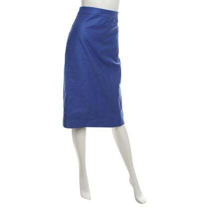 J. Crew Pencil skirt in blue