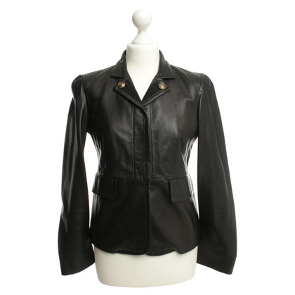 Gucci Leather jacket in black