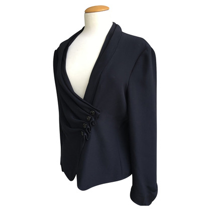 Armani Collezioni Elegante blazer met zijdegehalte