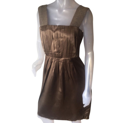 Marc Cain Silk dress in brown