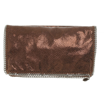 "Stella McCartney ""Falabella clutch"" in bronzo metallizzato"