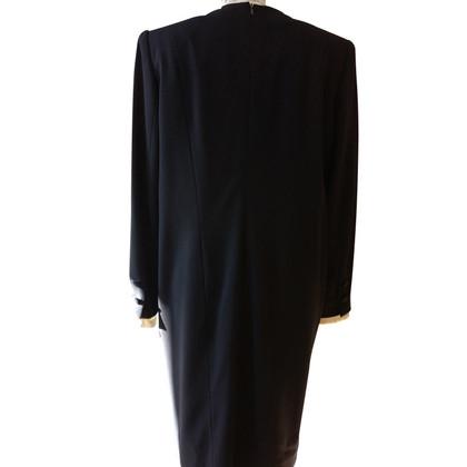 Rena Lange Schede jurk donkerblauw