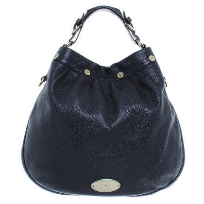 Mulberry Black leather purse with large inner compartment