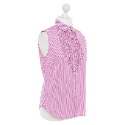 Polo Ralph Lauren Sleeveless blouse with plastron