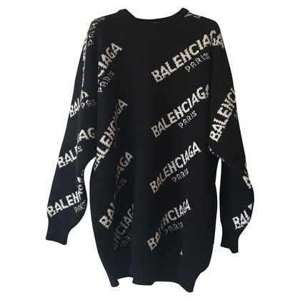 Balenciaga Sweater in black and white