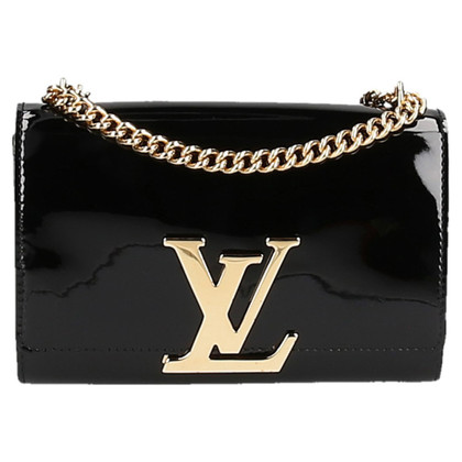 Louis Vuitton Chain Louise MM patent leather