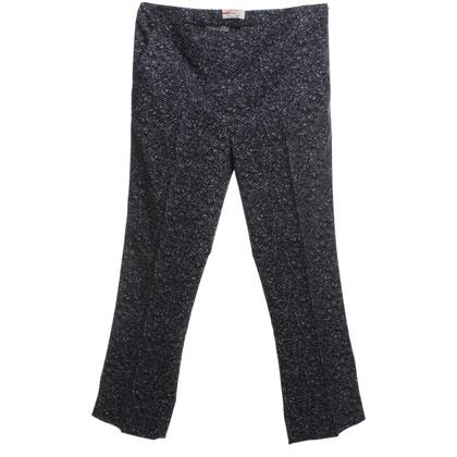 Prada Pantaloni in blu/nero