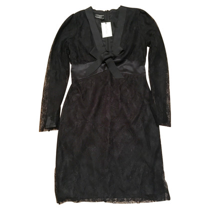 By Malene Birger Schwarzes Cocktailkleid