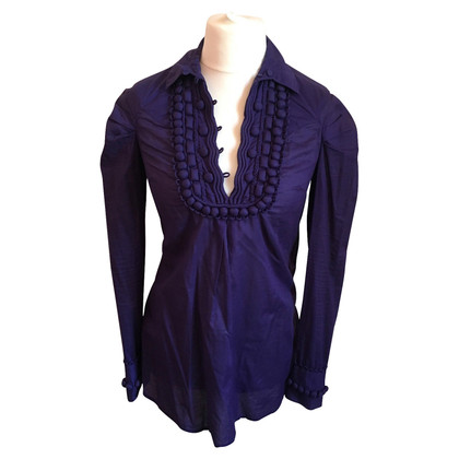 Hoss Intropia Long sleeve blouse in purple
