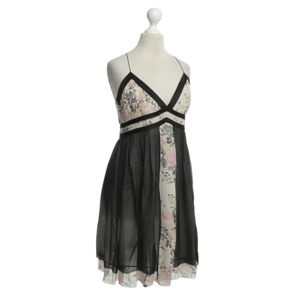 Barbara Bui Silk dress with floral print
