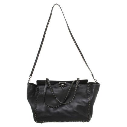 Valentino Rockstud handbag in black