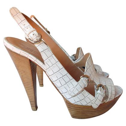 Sergio Rossi White sandals