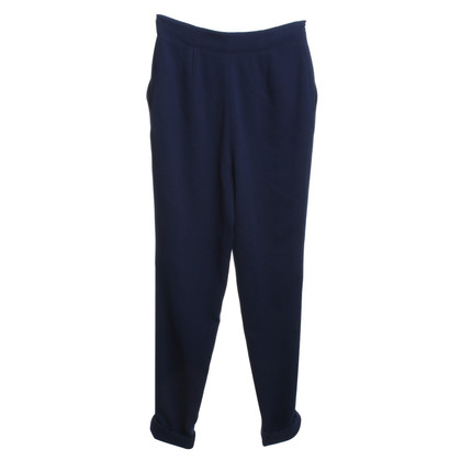 Cacharel Blue crepe broek