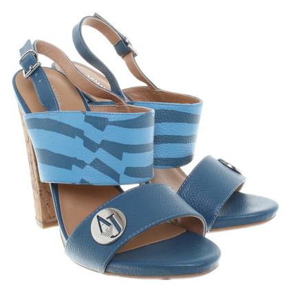 Armani Jeans Sandals in Blue