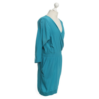 Bruuns Bazaar Silk dress in turquoise