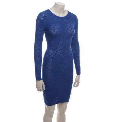 Reiss Strickkleid in Blau