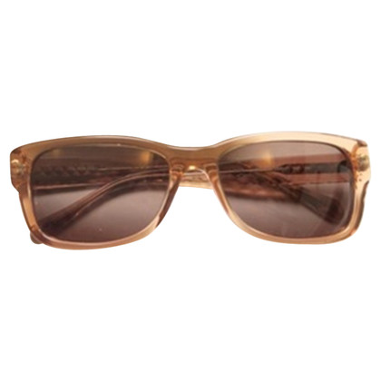 Chanel Sonnenbrille in Bernsteinfarben