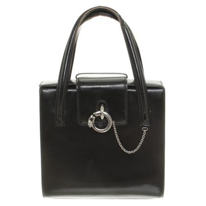 Cartier Borsa di cuoio nera