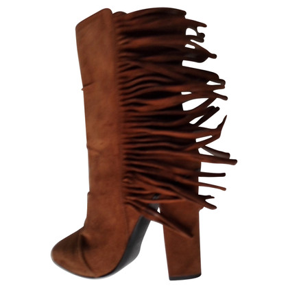 Giuseppe Zanotti Ankle boots with fringes