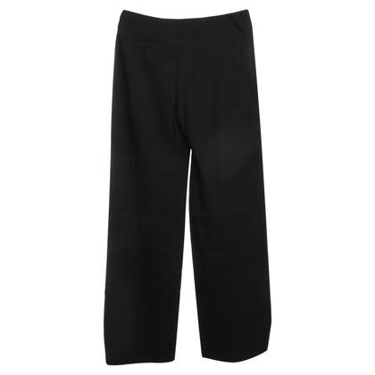 Armani Collezioni trousers in black