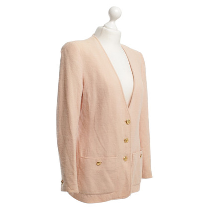 Chanel Blazer in Apricot