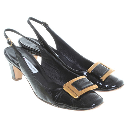 L'autre Chose Pumps in Schwarz