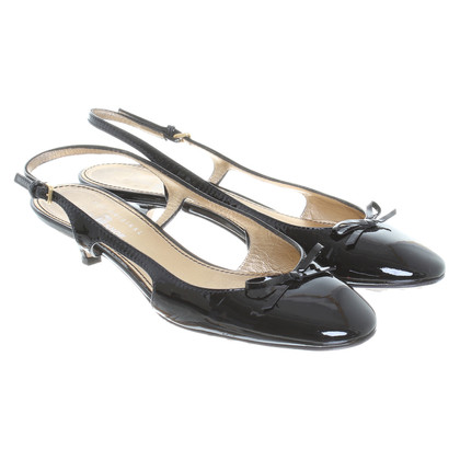 Car Shoe Sandal in patent leather