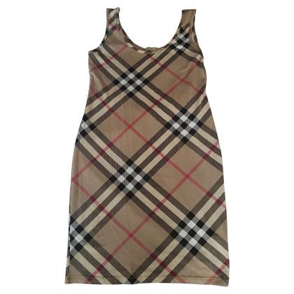 Burberry Kleid mit Nova-Check-Muster