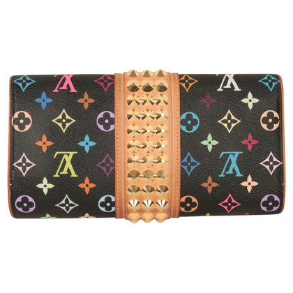 "Louis Vuitton ""Courtney Monogram Multicolore Canvas"""