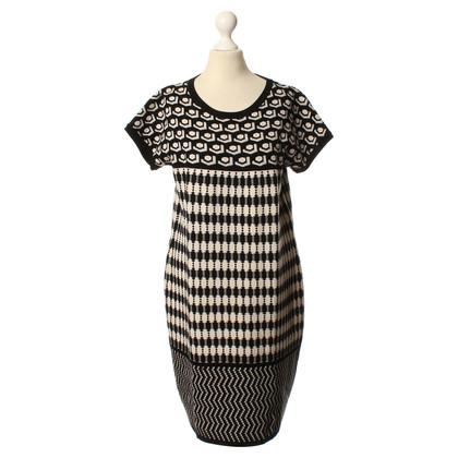 Max Mara zwart/wit jurk