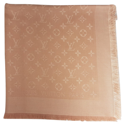 Louis Vuitton Monogram cloth in Nude