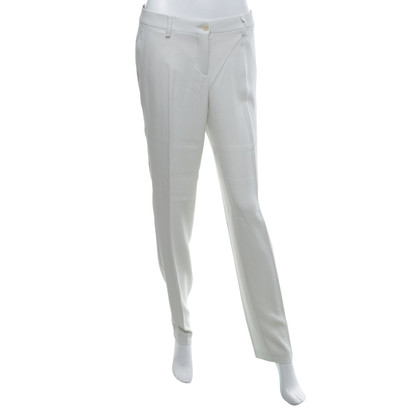 Etro Classic trousers in cream white