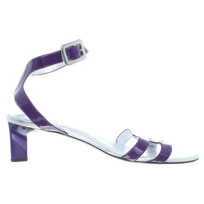 Roger Vivier Patent leather Sandals purple