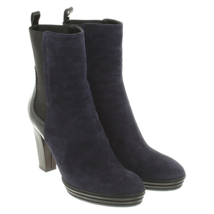 Hogan Ankle boots in dark blue