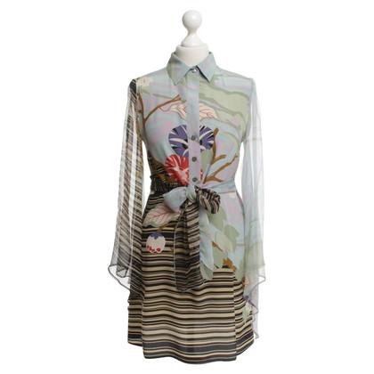 Patrizia Pepe Blouse dress with floral pattern