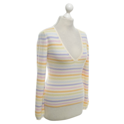 Loro Piana Cashmere sweater with stripes