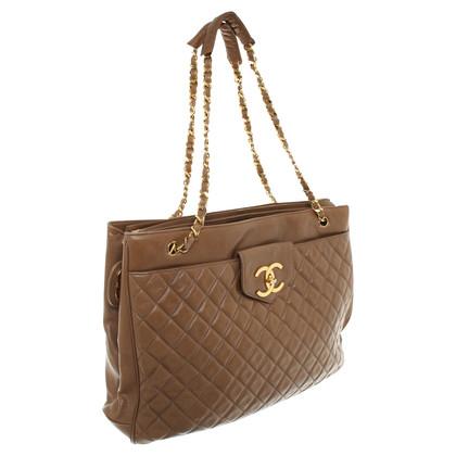 Chanel Shopper in Beige