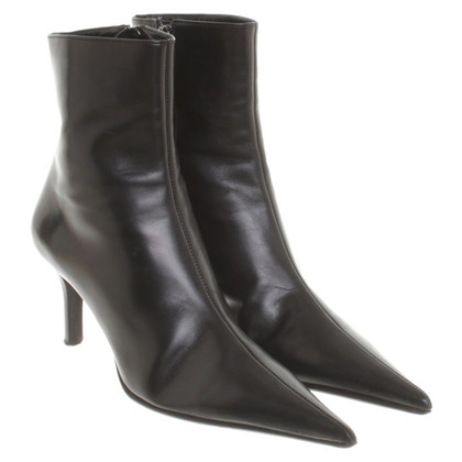 Gianmarco Lorenzi Ankle boots in black