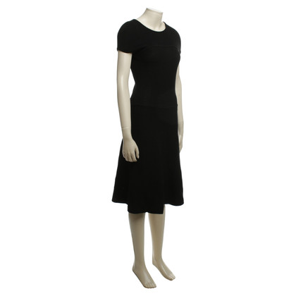 Hugo Boss Strickkleid in Schwarz