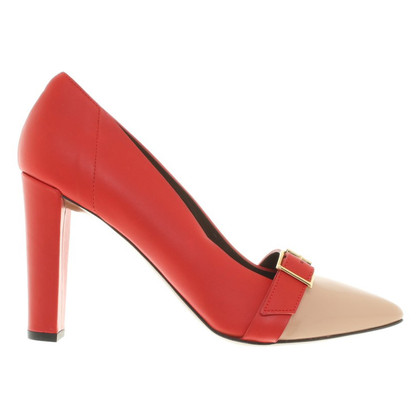 Marni pumps in Red / Nude